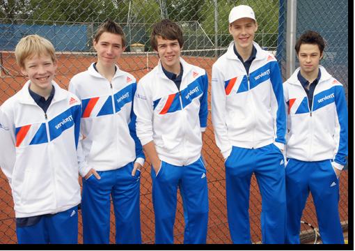 Sponsoring jeugd tennisteam de Blauwe Reiger